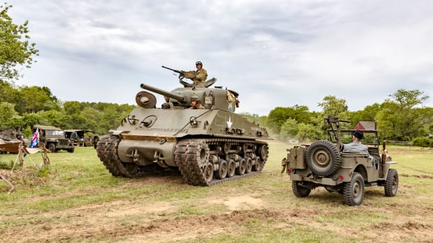 From jeeps to tanks...see real WWII vehicles in action at the WWII Weekend!