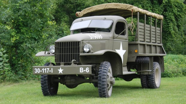 Front view, G-506 Chevrolet truck