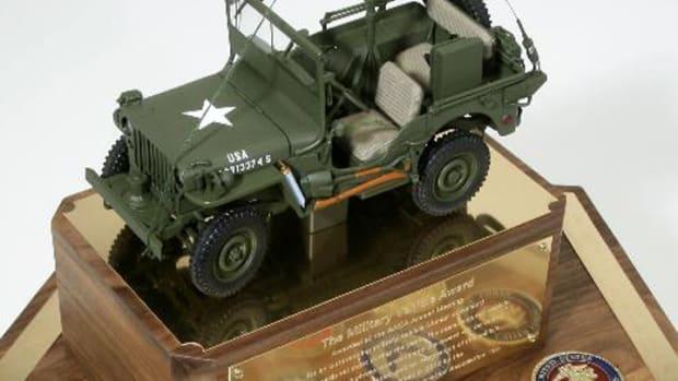 AACA Military Vehicle Award sponsored by USMC Transport Association