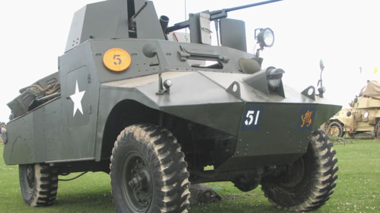 Mighty Morris: The Morris Light Recon Car