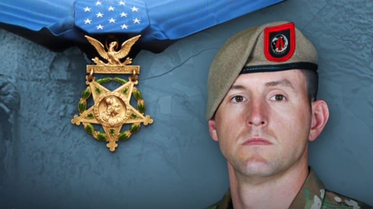 Sgt. Maj. Thomas P. Payne receives Medal of Honor