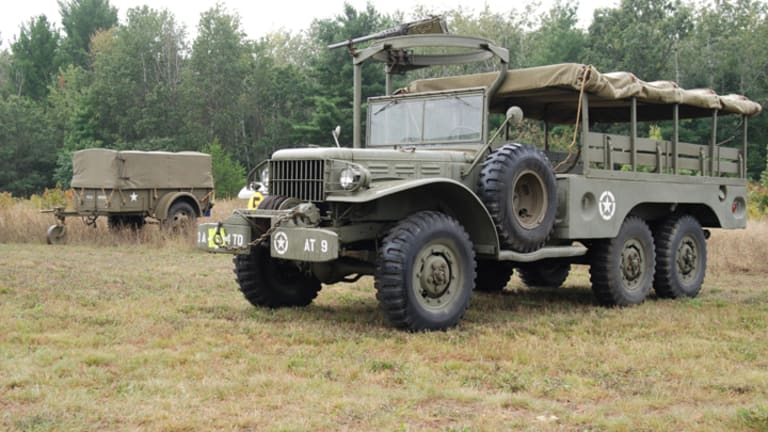 "During WWII, it was called the ""New"" Dodge"