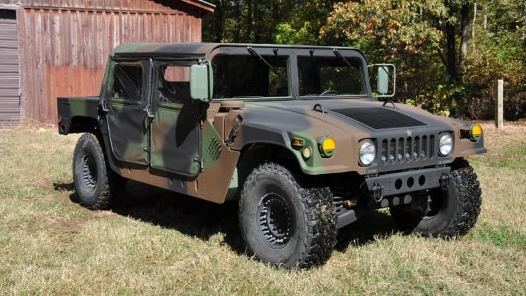 HMMWVs in the Military Vehicle Hobby, Part I
