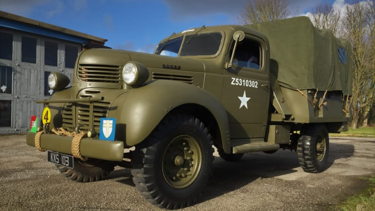 Restoring a WWII Canadian Dodge D15 of the Royal Army Service Corps