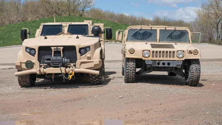 USAF Begins HMMWV Replacement