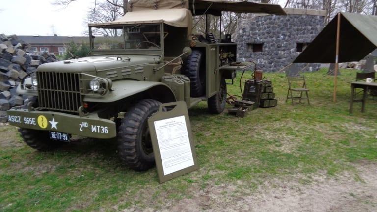 WWII WC-60 3/4-ton M2 Emergency Repair Truck
