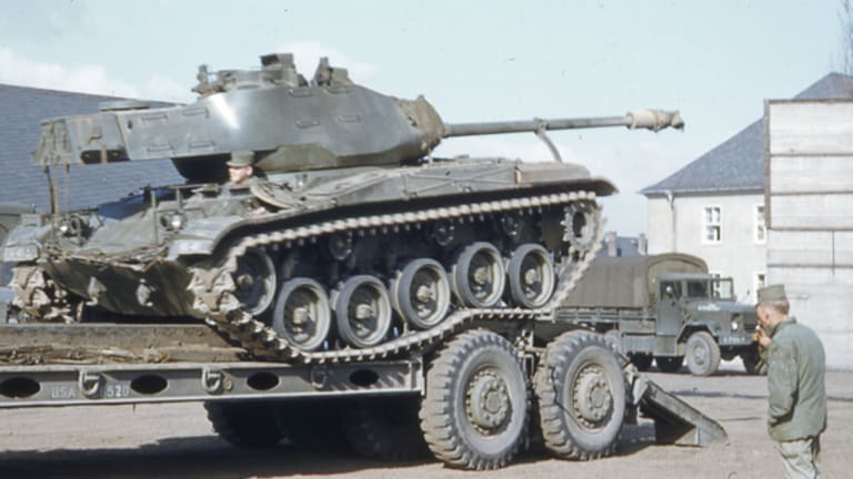 Developing the M41 Walker Bulldog Tank