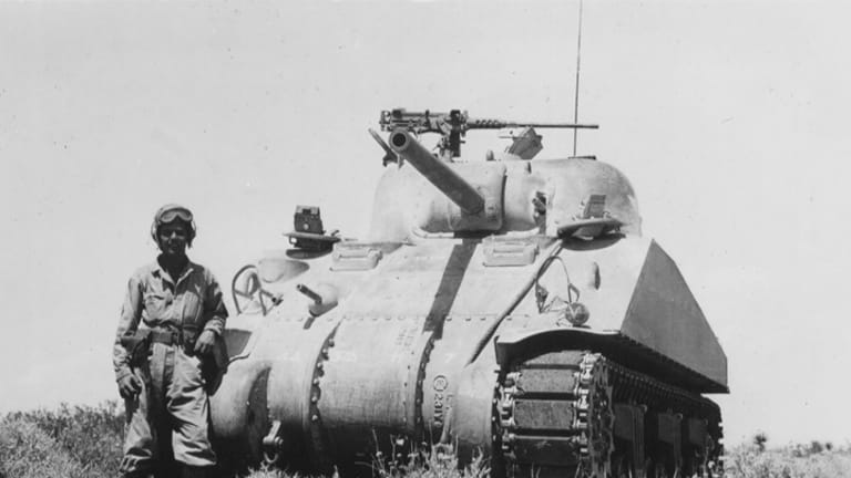 So, you want to buy a Sherman tank?