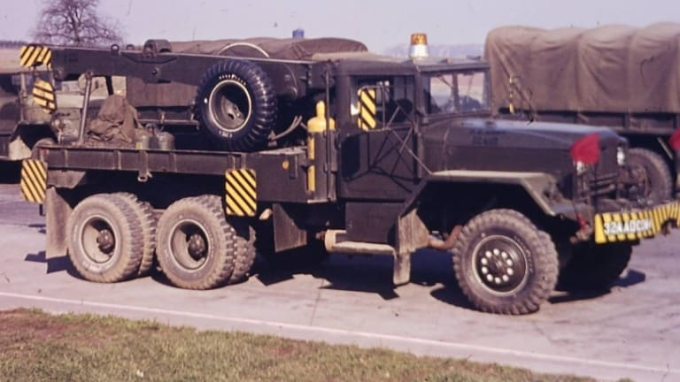 "M62 5-ton Wrecker: A historic gallery of the US Army's ""heavy hooker"""