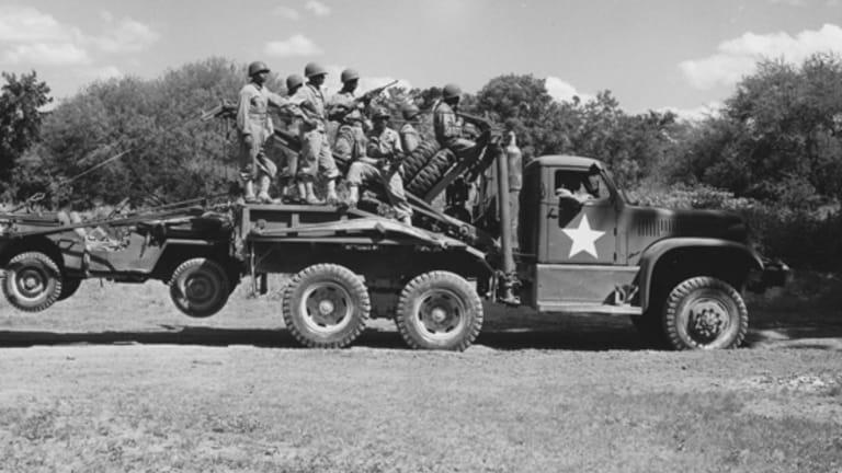 WWII Four-Ton Diamond T Wrecker