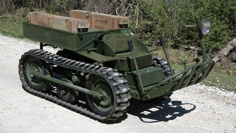 MV Spotlight: WW2 Crosley Mule T-37