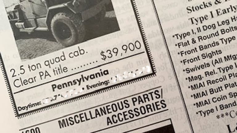 """The classified ad said, """"Ran when parked."""""""