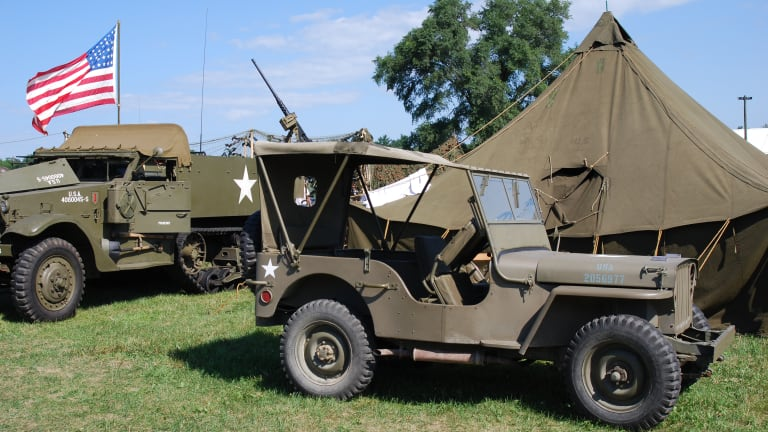 MICHIGAN GOVERNOR VETOES BILL TO ALLOW FOR HISTORIC MILITARY VEHICLE TITLING