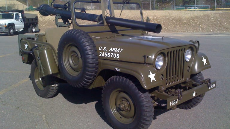 M38A1C: A Willys Jeep with a Recoilless Rifle