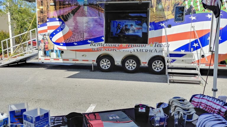 Wreaths Across America announces start of the Mobile Education Exhibit's 2021 National Tour