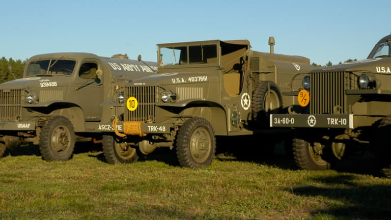 Living with...LARGE, Historic, Military Vehicles