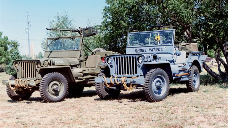 Historic Military Vehicle Spotlight: WW2 Ford GPW and Willys MB 1/4-ton Jeeps