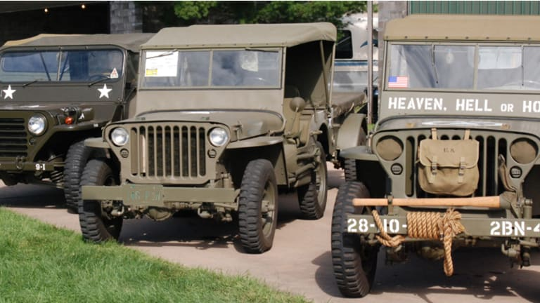 All Jeeps aren't alike! Here are some of the different models of 1/4-ton military Jeeps.