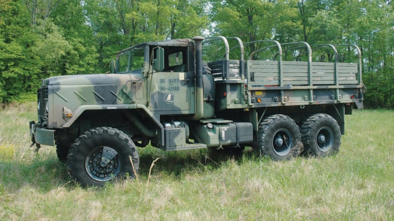 NATO Military Vehicle Three-Color Camouflage