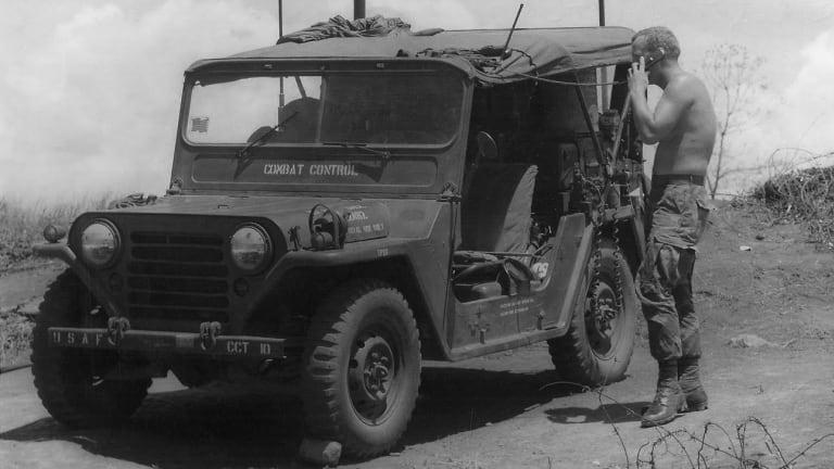 Collins Cold War Jeep Radios