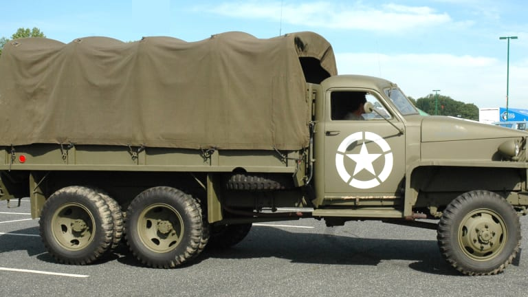 """G-630: The Military's """"other"""" WWII 2-1/2-ton truck"""