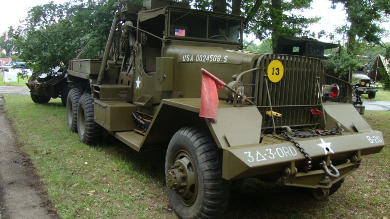 The Proving Ground: Ward La France and Kenworth M1 and M1A1 Wreckers