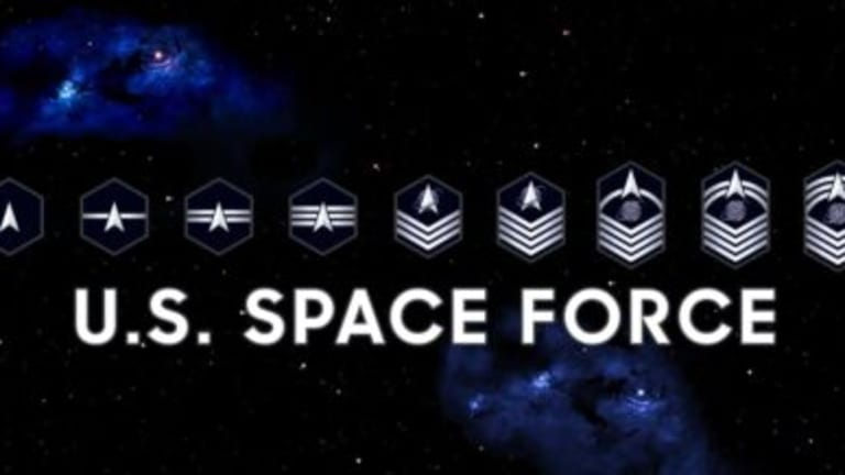 United States Space Force Reveals New Rank Insignia