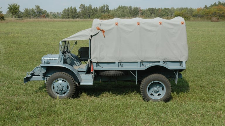 Gallery of Extant WWII Ford GTB Trucks