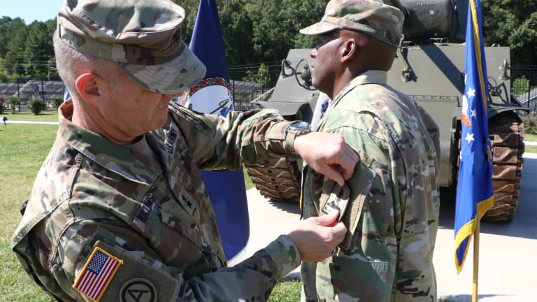 The Virginia National Guard Joint Force Headquarters introduces a new shoulder patch.