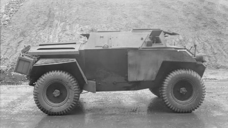 British WWII Humber Scout Car