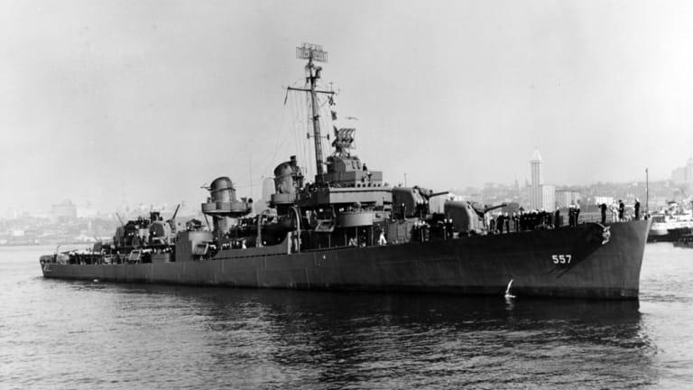 Wreckage confirmed as heroic USS Johnston (DD 557)