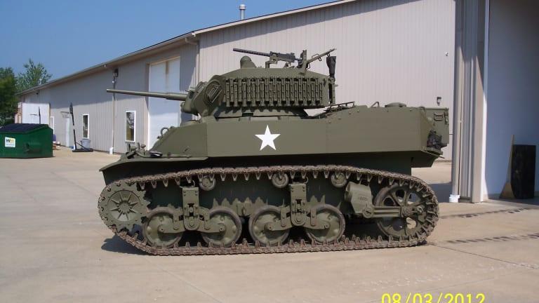 Making Tracks for WWII M5A1 Stuart Light Tanks