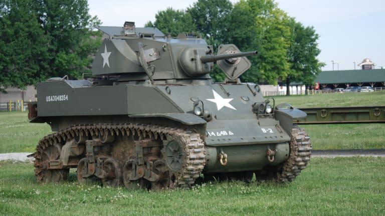 """Spotlight: WW2 M5A1 """"Stuart"""" Light Tank"""
