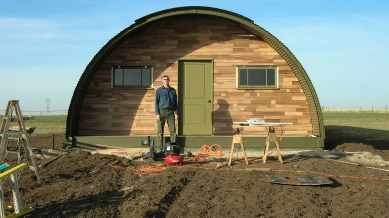Atten-HUT! Reviving WWII Quonset Huts