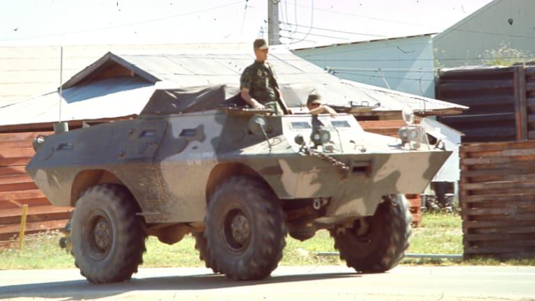 Cadillac Gage V-100 Commando Armored Vehicle