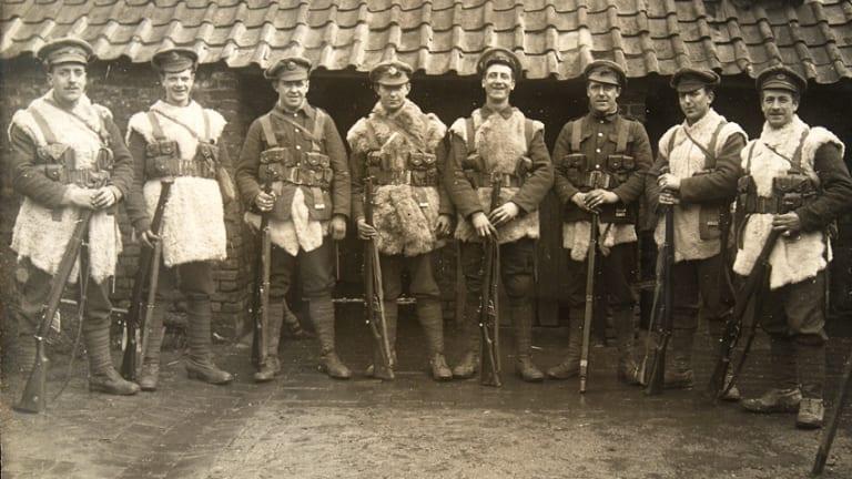 Gor Blimey! The WW1 British Winter Service Dress Cap, 1914-1916