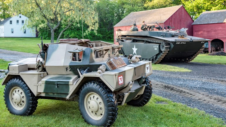 WWII Weekend at Old Bethpage Village June 19-20, 2021