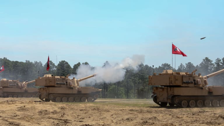 North Carolina National Guard Unit First to Receive upgraded Paladins: The M109A7