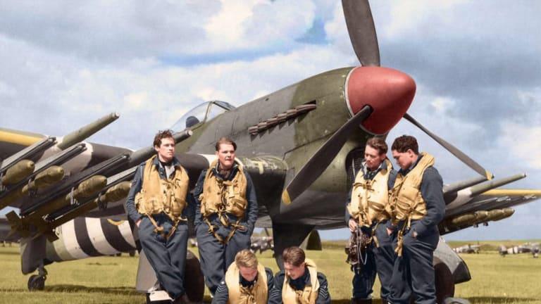 """Flight Lieutenant Walter McBean: An RAF WWII """"D-Day Typhooner"""""""