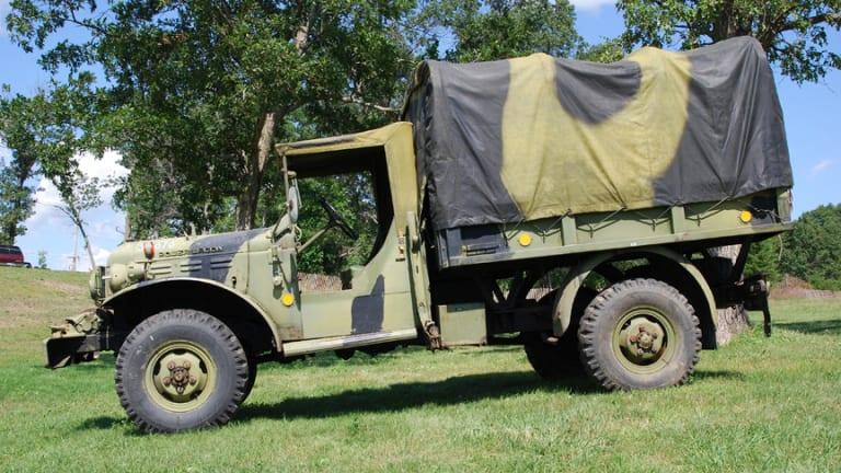 Danish Army W300M Dodge Power Wagon