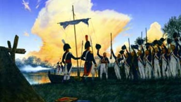 4th of July celebrated for first time west of Mississippi in 1804