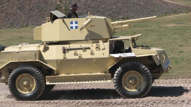 Marmon-Herrington MK IV Armoured Car
