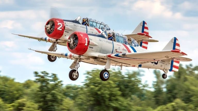 WWII aircraft to take to the sky over Oshkosh July 26-August 1 at EAA AirVenture