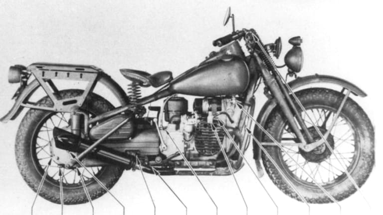 Military Vehicle Spotlight: WWII Harley-Davidson XA