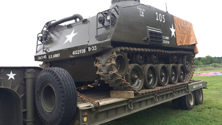 Something to haul: 1952 M75 Armored Personnel Carrier