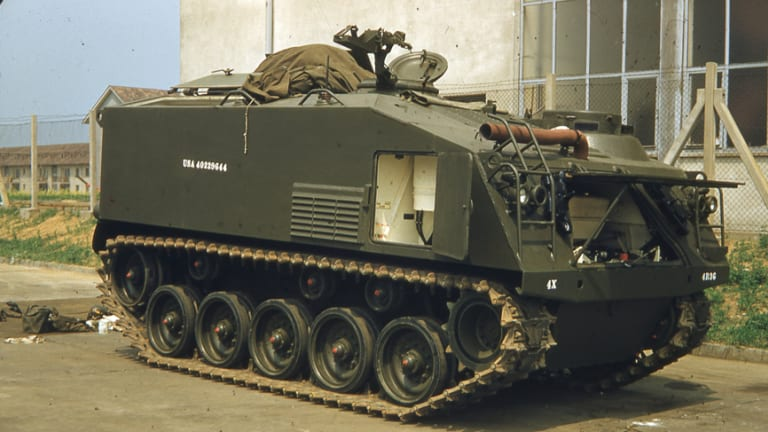 M75 Armored Personnel Carrier