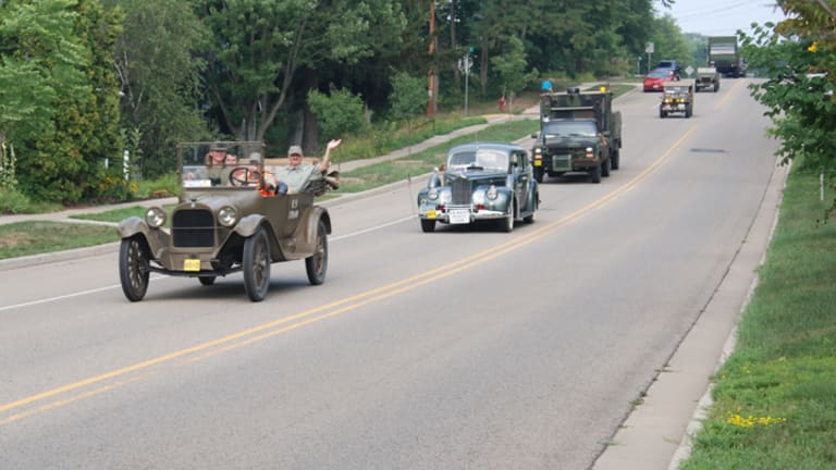 MVPA Drives Historic Military Vehicles on Yellowstone Trail Convoy