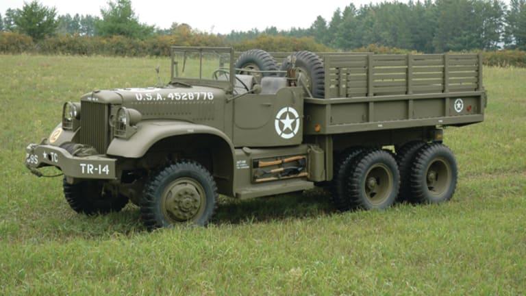 Diamond T G-509 4-ton Cargo Trucks