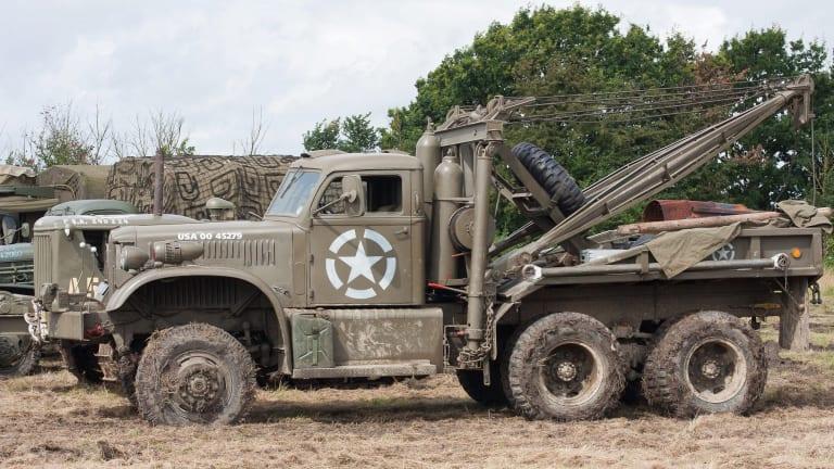Military Vehicle Spotlight: Four-ton 969 Diamond T Wreckers