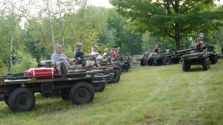 Fun and Games at the Central Wisconsin Military Vehicle Show